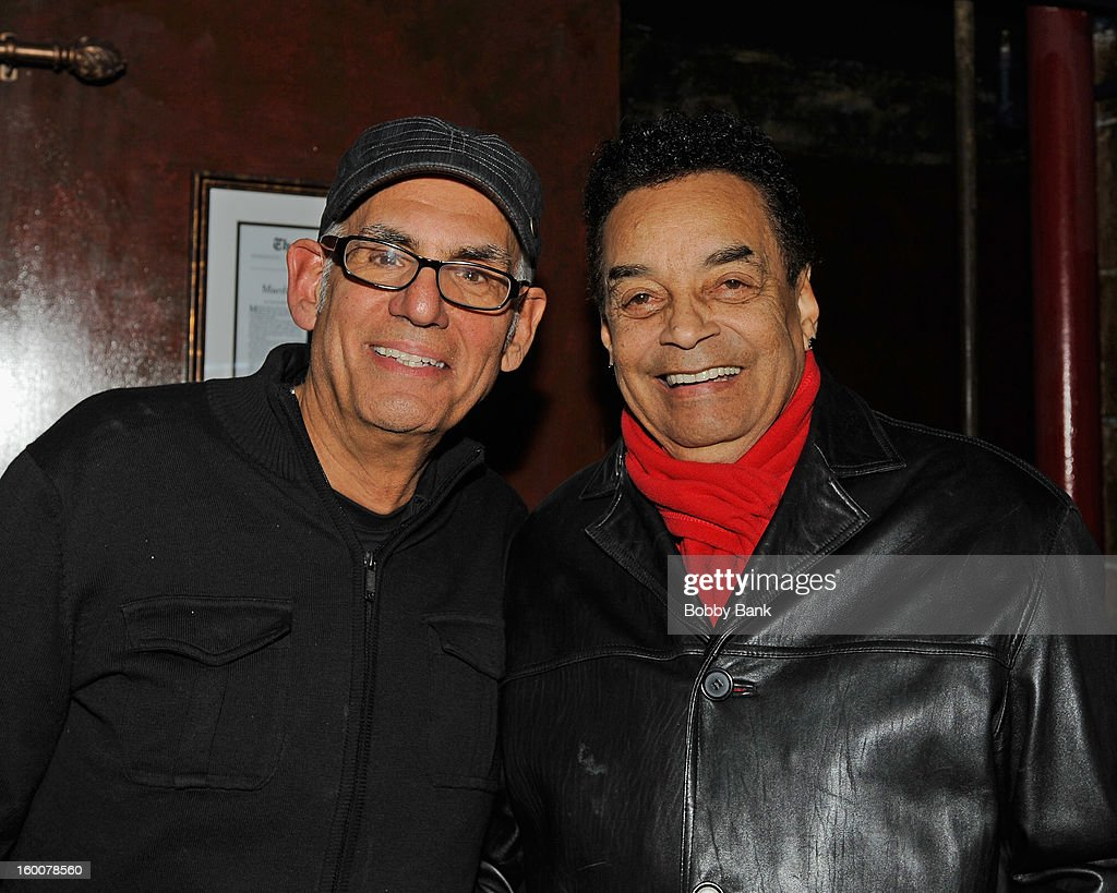 Gary US Bonds and Liberty Devitto performs at The Cutting Room on January 25, 2013 in New York, New York.