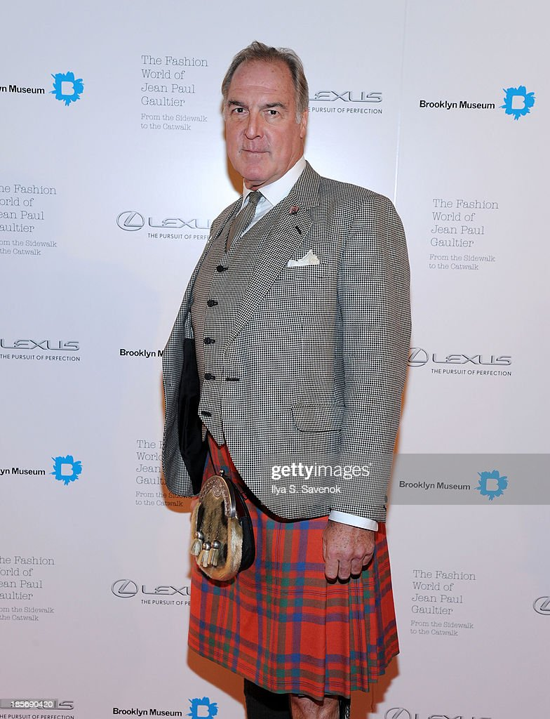 Gary Van Dis attends the VIP reception and viewing for The Fashion World of Jean Paul Gaultier: From the Sidewalk to the Catwalk at the Brooklyn Museum on October 23, 2013 in the Brooklyn borough of New York City.