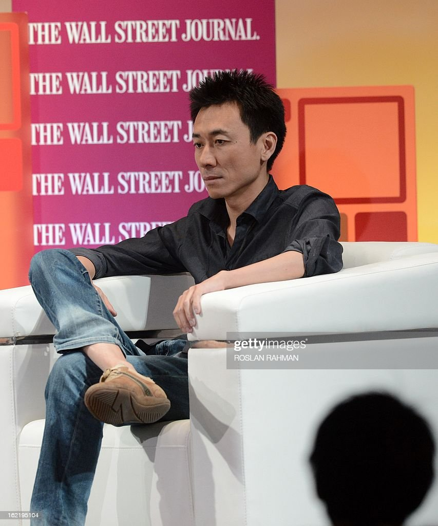 Gary Wang, founder of Tudou.com attends the Wall Street Journal Unleashing Innovation executive conference held at Capella Singapore, Sentosa Island in Singapore on February 20, 2013. The conference which is the being held for the first time from February 19-21 in Singapore is attended by global leaders from business, government and academia with expertise in information technology, biotechnology and clean tech, to provide practical advice on strategies to drive innovation in organisations.