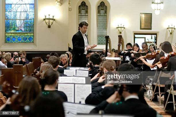 Gary White Conducting Philadelphia Sinfonia Youth Orchestra