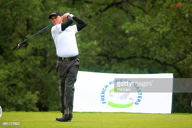Gary Wolstenholme of England in action during day two of the French Riviera Masters played on The Chateau Course at Terre Blanche Spa Golf Resort on...