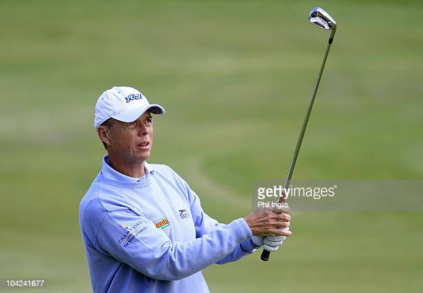 Gary Wolstenholme of England in action during the second round of the Casa Serena Open played at Casa Serena Golf on September 18 2010 in Kutna Hora...
