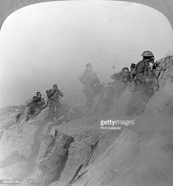 Gas Alarm Loos France World War I c1915c1918 On 22 April 1915 during the Second Battle of Ypres the Germans released 168 tons of chlorine gas over a...
