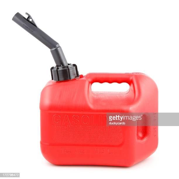 Gas Can su bianco