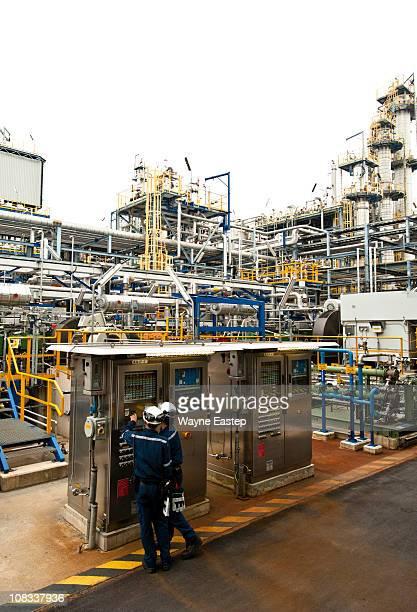 Gas Compressor Local panel, Oxo Alcohol Plant