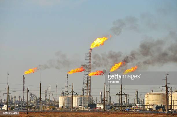 Gas ausgestellten