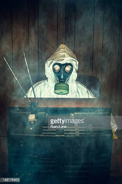Máscara Anti-gás tóxico T.V.