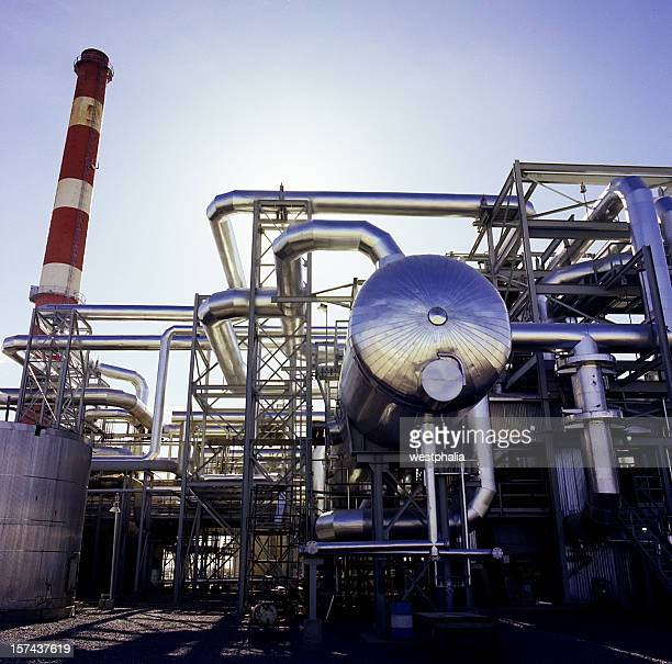 Gas Plant and Pressure Vessel