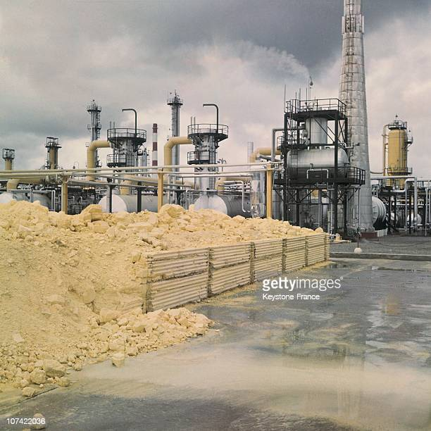 Gas Plant In France On 1961