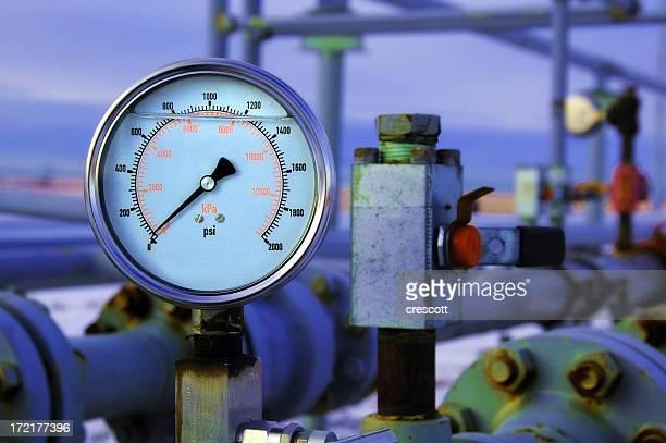 Guage de pressão de gás