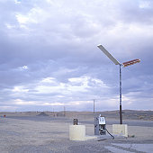 A Gas Pump In The Middle Of Nowhere