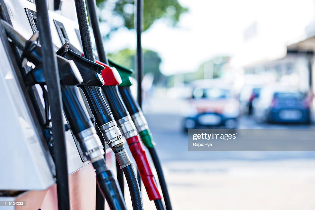 Gas-pumps : Stock-Foto