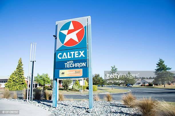 gas station Caltex Petroleum Australia Ltd