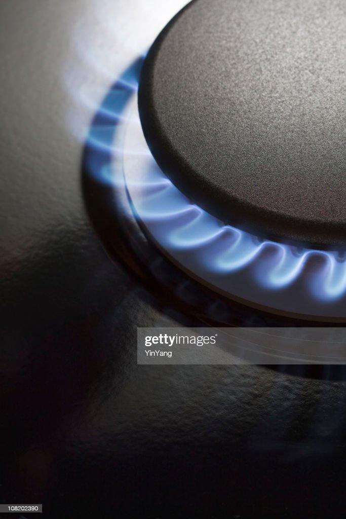 Gas Stove Burner : Stock Photo