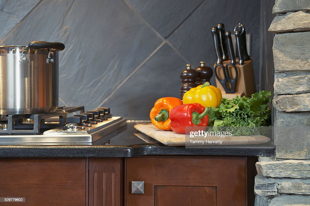 Gas stove : Foto stock