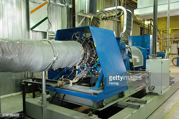 Gas turbine-generator die installation