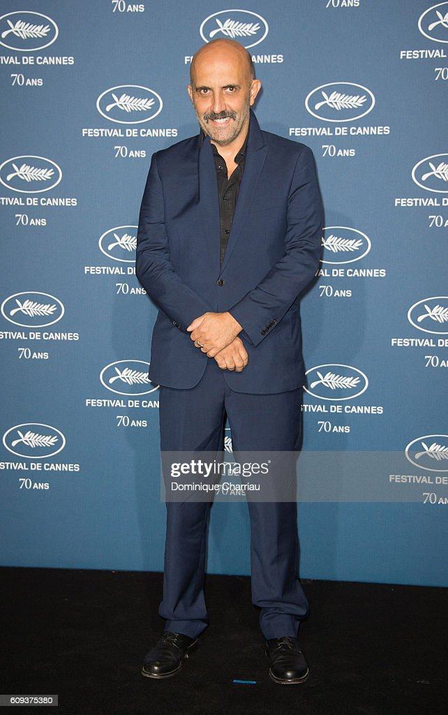 Gaspard Noe attends the Cannes Film Festival : 70th Anniversary Party at Palais Des Beaux Arts on September 20, 2016 in Paris, France.