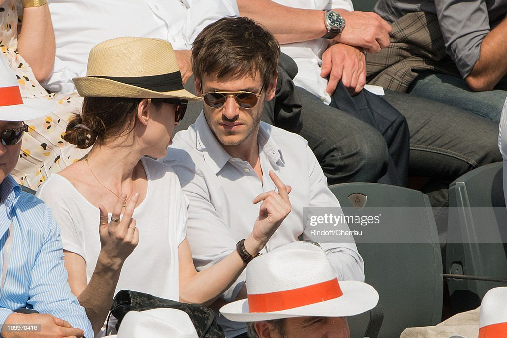 Celebrities At French Open 2013 - Day 11