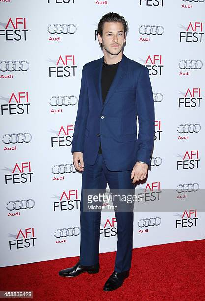 Gaspard Ulliel arrives at AFI FEST 2014 Presented By Audi 'Saint Laurent' special screening held at Dolby Theatre on November 11 2014 in Hollywood...