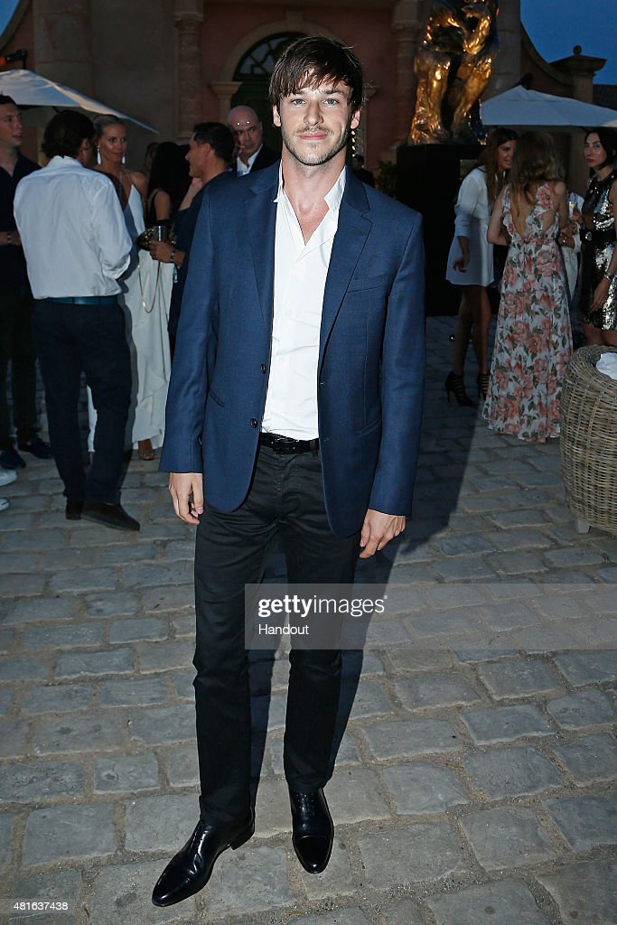 Gaspard Ulliel attends a cocktail reception during The Leonardo DiCaprio Foundation 2nd Annual Saint-Tropez Gala at Domaine Bertaud Belieu on July 22, 2015 in Saint-Tropez, France.