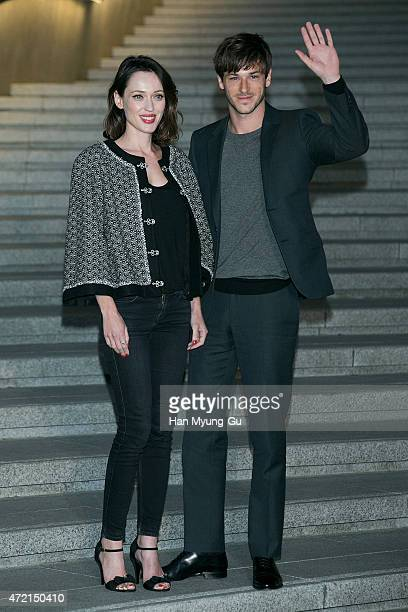 Gaspard Ulliel attends the Chanel 2015/16 Cruise Collection show on May 4 2015 in Seoul South Korea
