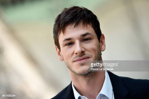 Gaspard Ulliel attends the Chanel Haute Couture Fall/Winter 20172018 show as part of Haute Couture Paris Fashion Week on July 4 2017 in Paris France