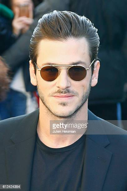 Gaspard Ulliel attends the Chanel show as part of the Paris Fashion Week Womenswear Spring/Summer 2017 on October 4 2016 in Paris France