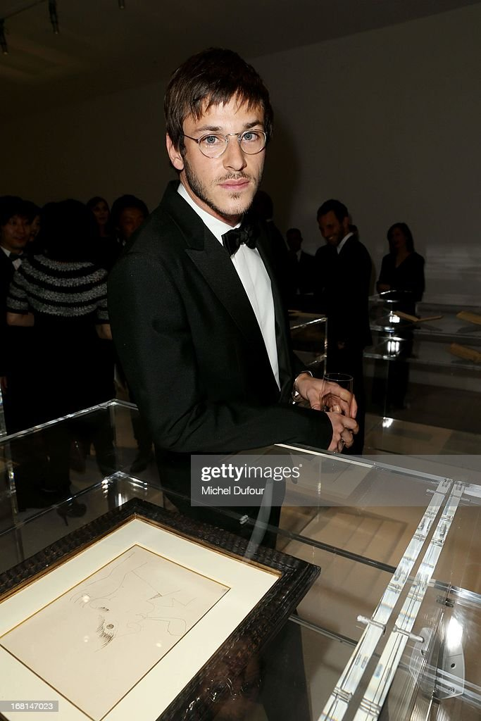 Gaspard Ulliel attends the 'No5 Culture Chanel' Exhibition - Photocall at Palais De Tokyo on May 3, 2013 in Paris, France.