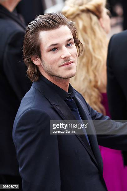 Gaspard Ulliel departs the 'The Princess of Montpensier' Premiere held at the Palais des Festivals of Cannes on May 16 2010 in Cannes France