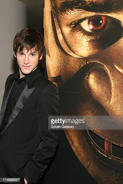 Gaspard Ulliel during MetroGoldwynMayer Pictures' and The Weinstein Company's Premiere of 'Hannibal Rising' Inside Arrivals at AMC Loews Lincoln...