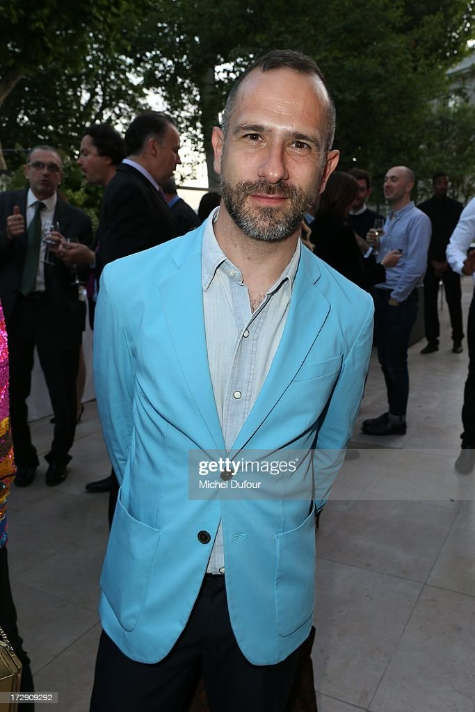 Gaspard Yurkievich attends the Chambre Syndicale de la Haute Couture cocktail party at Palais De Tokyo on July 4, 2013 in Paris, France.