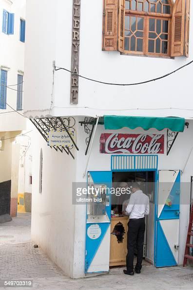 Gassen in der Kasbah von Tanger Marokko