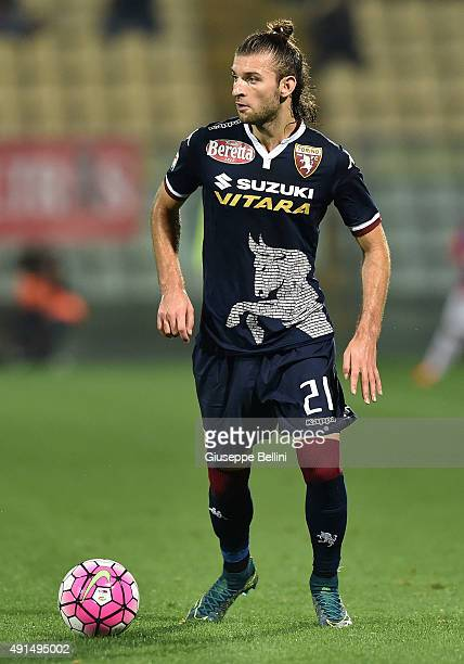 Gaston Silva of Torino in action during the Serie A match between Carpi FC and Torino FC at Alberto Braglia Stadium on October 3 2015 in Modena Italy