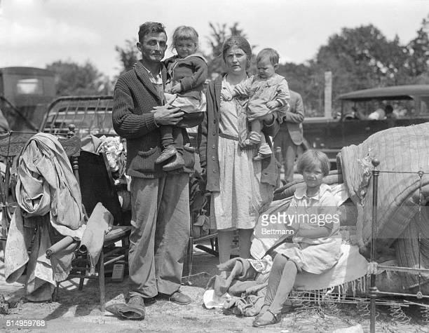 William Truitt and his family