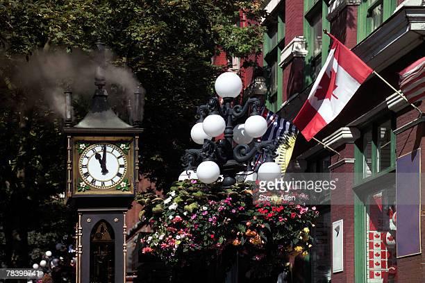 Gastown clock, British Columbia, Canada