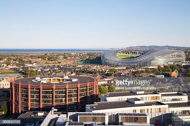 Gasworrks and Aviva Stadium