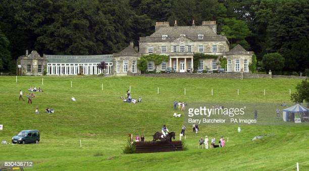 Gatcombe Park the home of the Princess Royal in Gloucestershire with the Doubleprint British Horse Trials Championships taking place * 11/08/00 Zara...