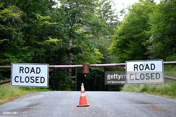 Road closure stock photos and pictures getty images