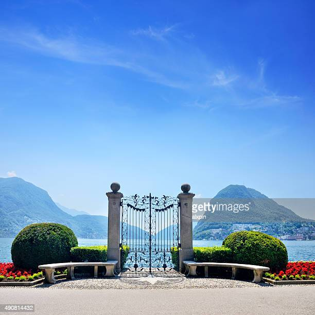 Gate in Lugano