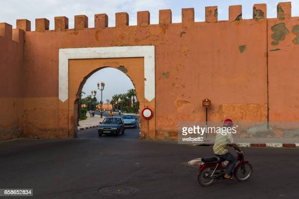 Gate in the Marrakesh city wall