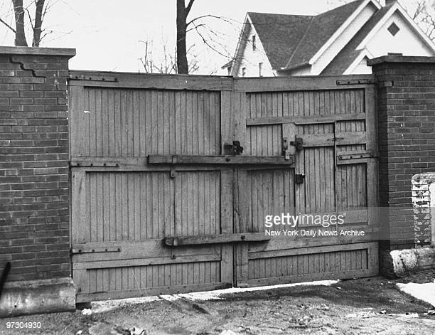 Gate John Dillinger went through during escape from jail