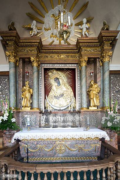 Gate of Dawn altar, Virgin Mary Mother of Mercy