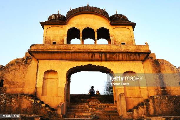 Gate of pond, Fatehpur Shekhavati, Rajasthan, India