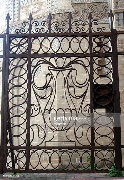 Gate, Palermo Cathedral, Sicily, Italy