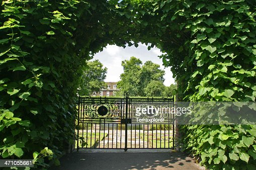 Gate To Formal Gardens