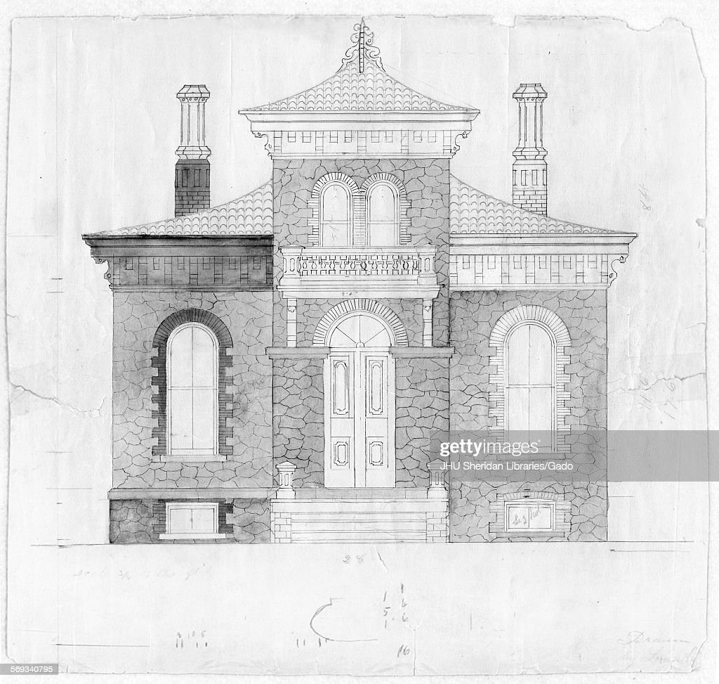 Front Door Drawing gatehouse drawing of front pictures | getty images