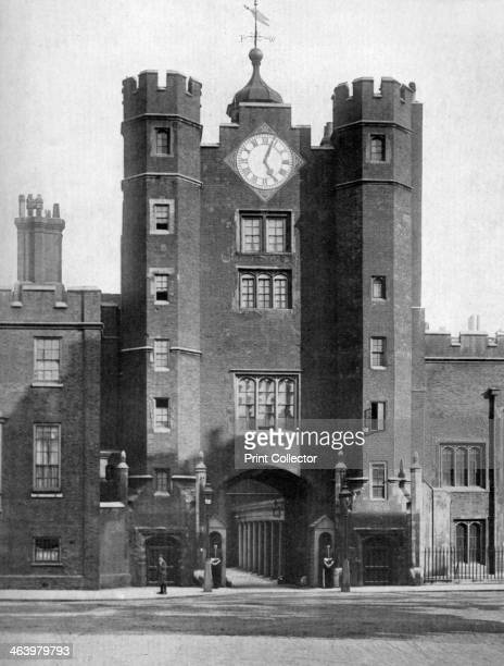 Gatehouse of St James's Palace London 19241926 Situated on the Mall just to the north of St James's Park St James's Palace was commissioned by Henry...
