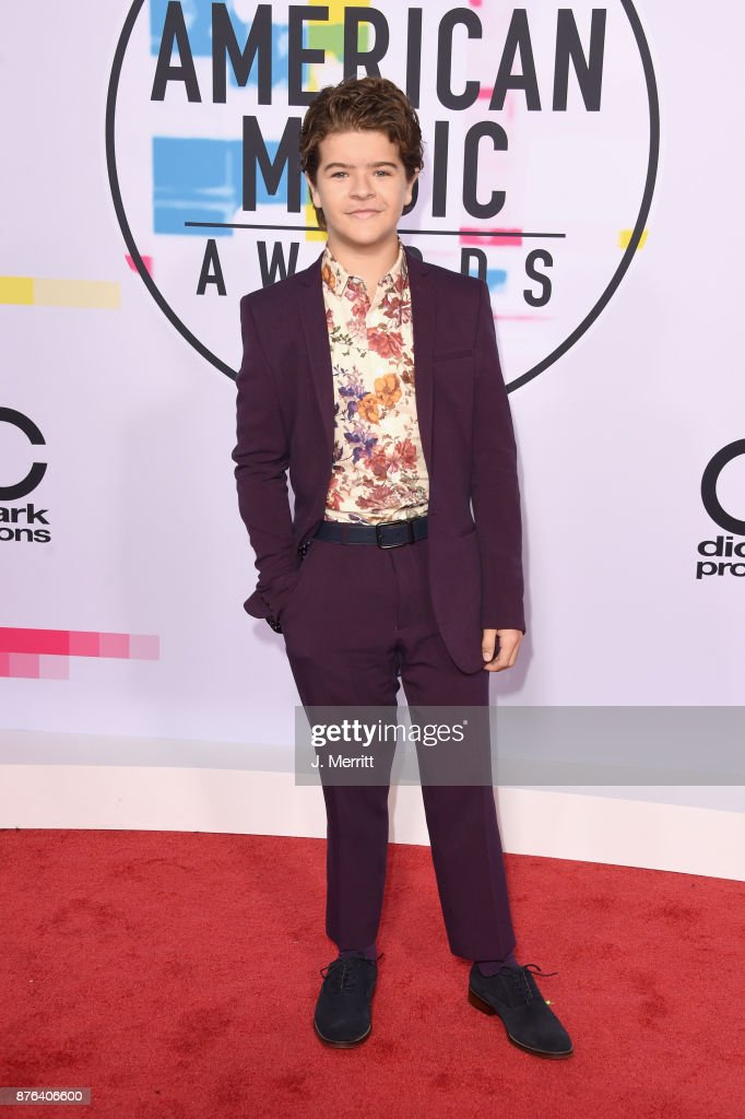 Gaten Matarazzo attends 2017 American Music Awards at Microsoft Theater on November 19, 2017 in Los Angeles, California.