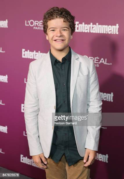 Gaten Matarazzo attends the 2017 Entertainment Weekly PreEmmy Party at Sunset Tower on September 15 2017 in West Hollywood California