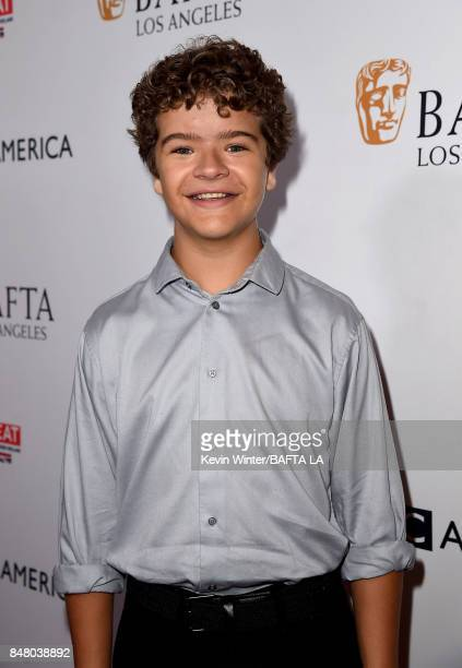 Gaten Matarazzo attends the BBC America BAFTA Los Angeles TV Tea Party 2017 at The Beverly Hilton Hotel on September 16 2017 in Beverly Hills...